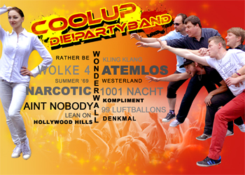 COOLUP Die Partyband